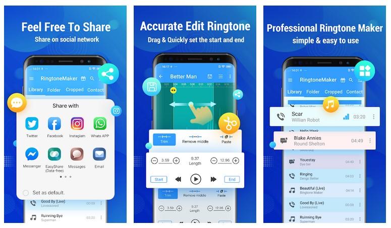 Fitur Aplikasi Ringtone, Video dan Thema Handphone